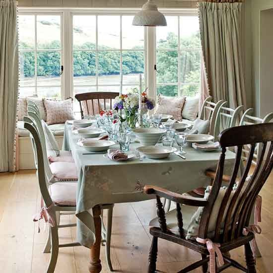 Dining room | Devon modern country house | House tour | PHOTO GALLERY | Country Homes and Interiors | Housetohome.co.uk:
