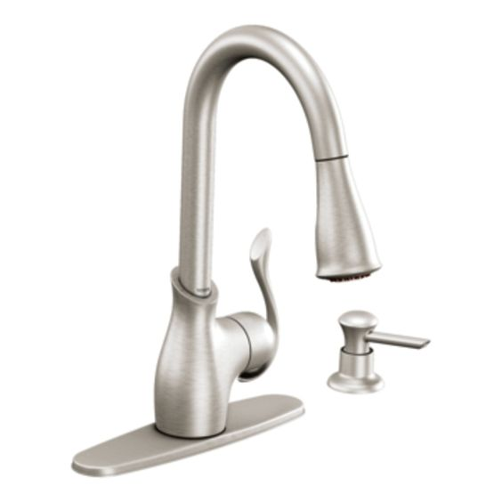 Boutique Spot Resist Stainless One Handle High Arc Pulldown Kitchen Faucet High Arc Kitchen Faucet Best Kitchen Faucets Stainless Kitchen Faucet