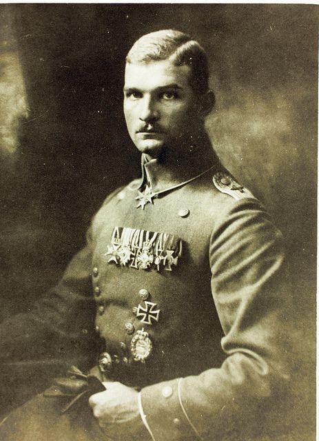 World War One German Aviator Max Ritter von Mulzer by San Diego Air & Space Museum Archives, via Flickr