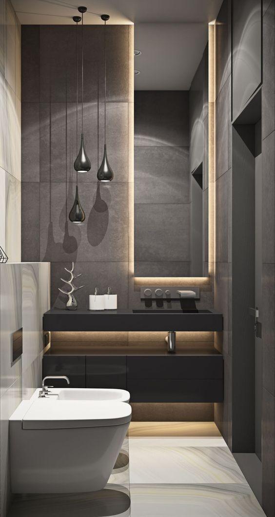 Stylish Bathroom Decor Ideas Dazzling Design Projects From Delightfull Http Www Delightfull Eu Usa Badezimmer Gestalten Badgestaltung Kleine Badezimmer