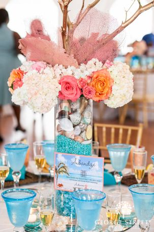 Bright and bold centerpiece.