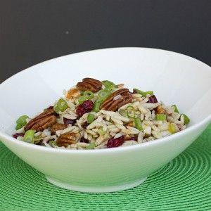 Chicken, Cranberry, Pecan and Orzo Salad with Lemon Vinaigrette