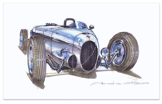 Concept Car #44 :: By Alberto Hernandez
