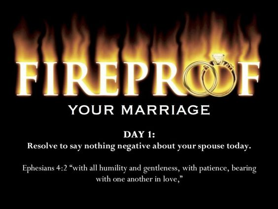 40 Day Fireproof your Marriage Challenge