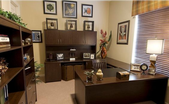 Home office amazing professional office decorating ideas for Professional office decor ideas