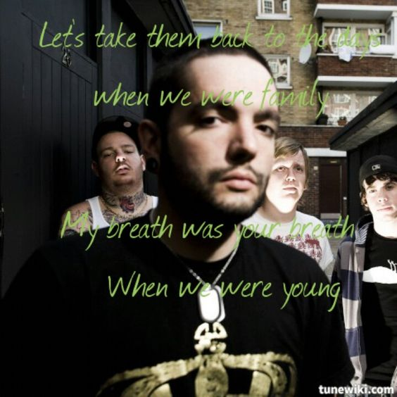 My lyric art to Shot in the dark - A Day To Remember