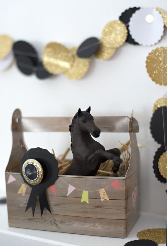 mitgebsel pferde kindergeburtstag einladungs men und. Black Bedroom Furniture Sets. Home Design Ideas