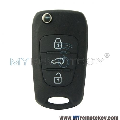 Flip Remote Key With 46chip 3 Button Toy48 434mhz For Hyundai I20 Floding Car Key Hyundai Car Hyundai Elantra