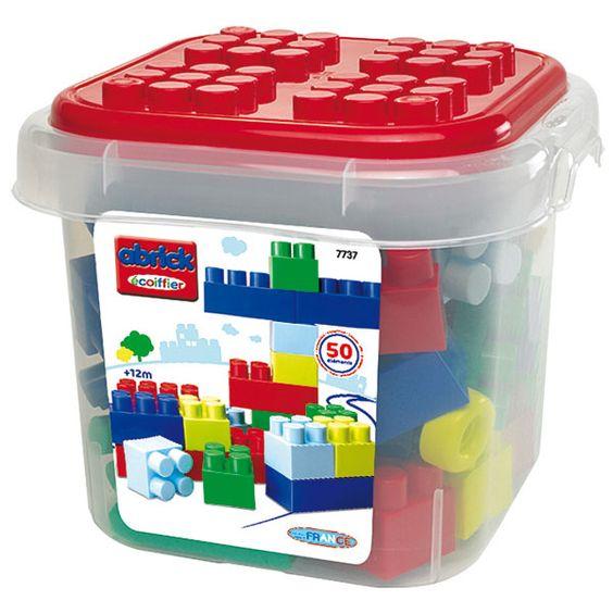 Lego - Baril 50 pièces Abrick - à partir de 12 mois