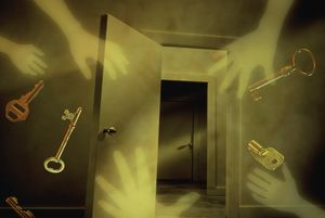Victim of the unseen forces of a poltergeist? The solution might surprise you