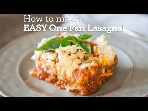 Super Easy One-Pan Lasagna | Primal Palate | Paleo Recipes