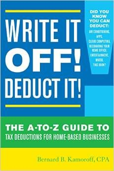 It's that time of year again, TAXES!   Those of us who are new to home based business need some help.  I've read this book cover to cover- so incredibly helpful!  Already put it to use for this year's taxes as well as preparing for how I can get more deductions this coming year.  click image to learn more about this book