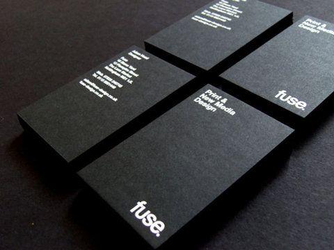 30 best foil blocked business card designs matt rogers web