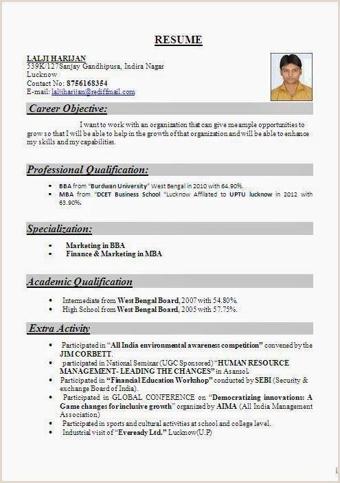 Resume Format For Job Fresher Word Download Resume Template Resume Format For Freshers Resume Format Best Resume Format