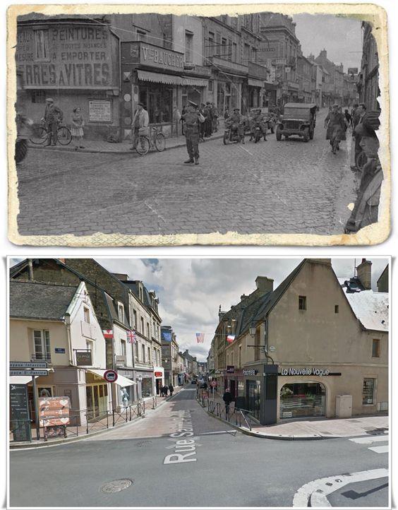 Rue Royale, Bayeux  #NORMANDIA1944