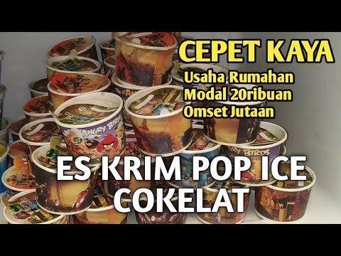 Es Krim Pop Ice Coklat Sederhana Tapi Uenak Ide Bisnis Mas Adit Youtube Es Krim Kue Es Krim Hidangan Pembuka
