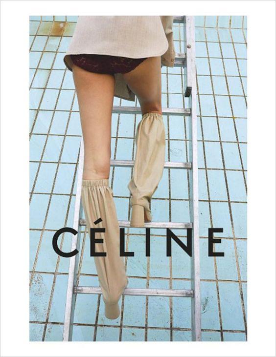 Céline Spring 2018 ad campaign by Juergen Teller