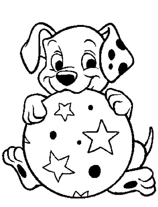 p is for puppy coloring pages - photo #48