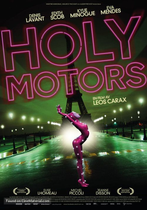 Holy Motors - HOLY MOTORS'' 2012 Swedish movie poster. (19). | Movie  posters, We movie, Motor