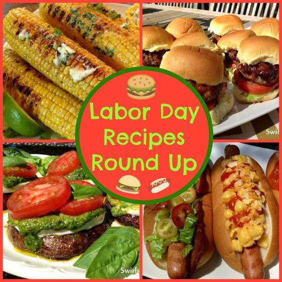 Labor Day Recipes Round Up - Swirls of Flavor