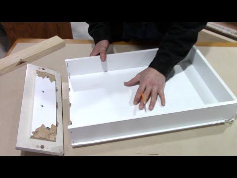 How To Fix Sticky Drawers In Seconds Drawer Repair Home Repair Diy Cleaning Products