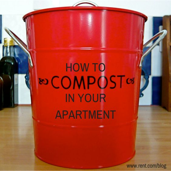 how to compost in your apartment gardens knowing you and will have. Black Bedroom Furniture Sets. Home Design Ideas