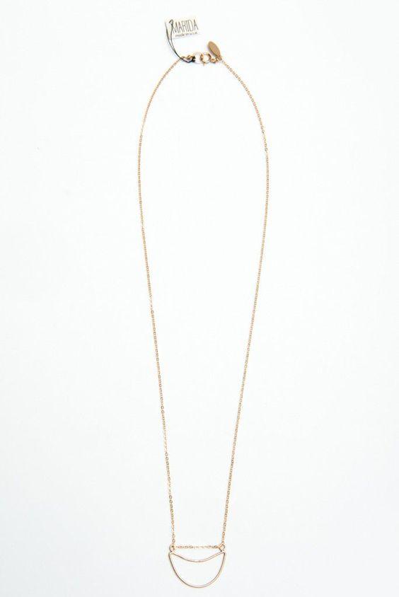 Marida Sunken Necklace