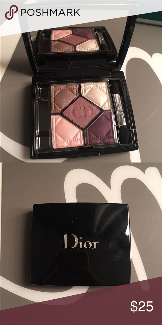 Eye showdo Dior eyeshadow palette never use Beautiful colors do not have the box Dior Accessories