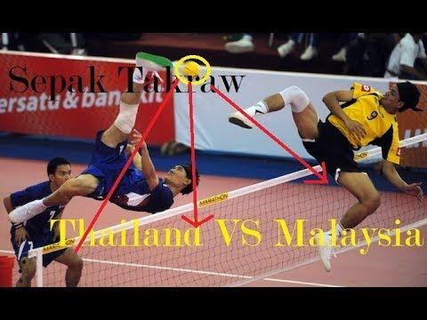 Sepak Takraw Thailand Vs Malaysia Youtube Thailand Malaysia Youtube