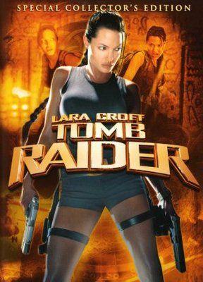 Lara Croft Tomb Raider 2001 Movie Poster Tshirt Mousepad