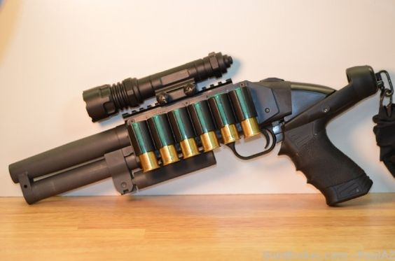 Serbu super shorty moss 500 6 5 quot barrel shotguns pinterest