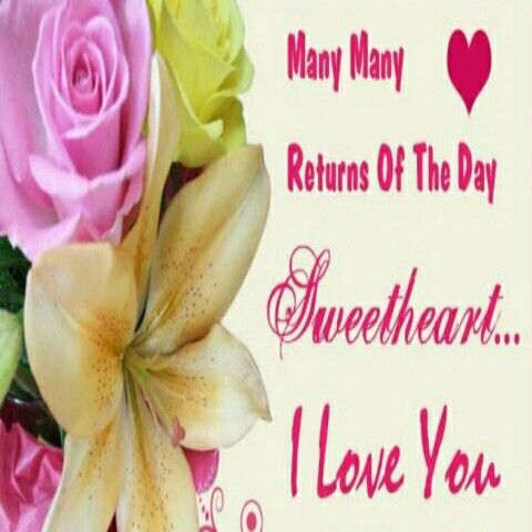 Pin By Honey Bahalan On Love Birthday Wishes For Wife Happy