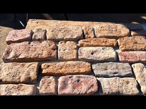Como Hacer Piedra Fachaleta Sin Ningún Tipo De Moldes Making Stone Vaneer Without Molds Youtube Stone Molds Wood Molding