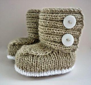 Pasos ́para tejer a crochet zapatitos de bebe