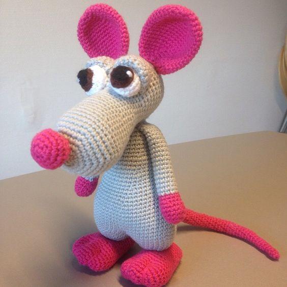 En lille fræk mus.