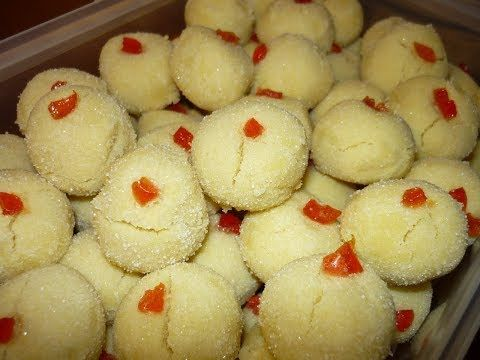 How To Bake Kuih Suji Youtube Food Recipes Biscuit Recipe