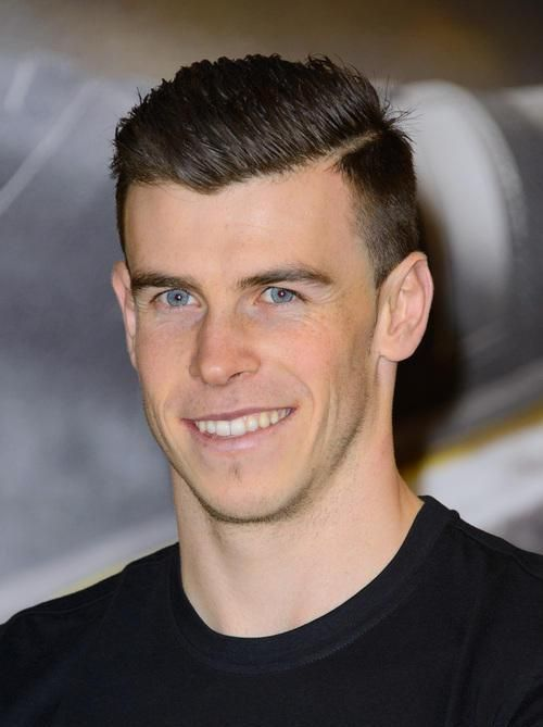 Mens Hairstyle 2013 Gareth Bale Haircut Hair In 2019 Gareth