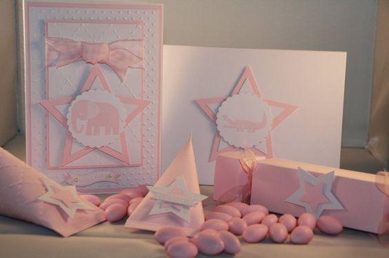 Einladungskarte Taufe  von Eva's CardArt auf DaWanda.com