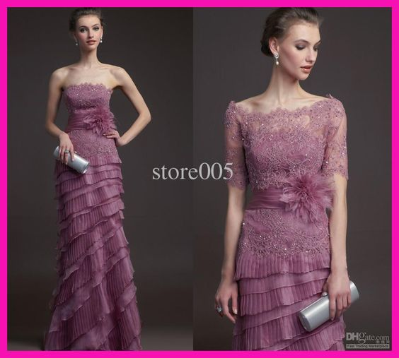 Wholesale Mother of the Bride Dresses - Buy 2014 Refined Purple Lace Tiered Mother of the Bride Dresses Gowns With Jacket M1755, $112.11 | DHgate