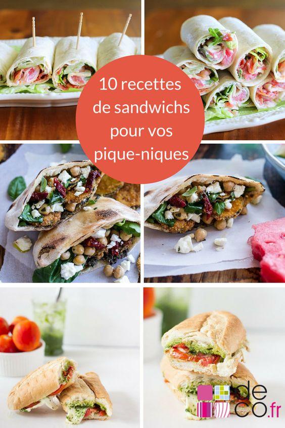Découvrez notre sélection d'idées de sandwichs à préparer pour le pique-nique