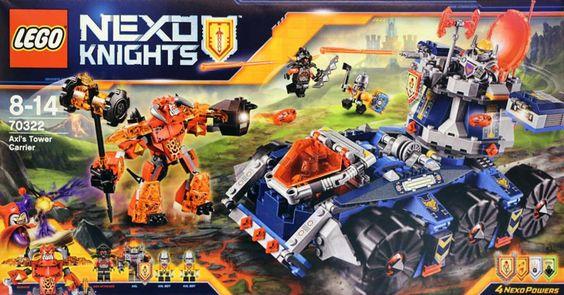 Lego Nexo Knights Knighton Castle  Building Kit  Piece