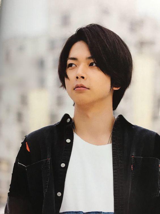 増田貴久の黒髪