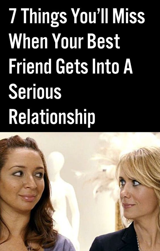 friends and your relationship