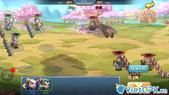Tải Game Tiểu Tam Quốc Chí Online việt hóa cho iPhone
