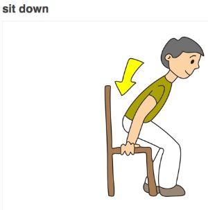 Verbo sentarse to sit el delantal blanco pinterest - Fotos de bancos para sentarse ...