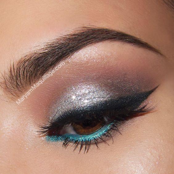! Maryam Maquillage !: Spring Beauty: Turquoise & Naked 3