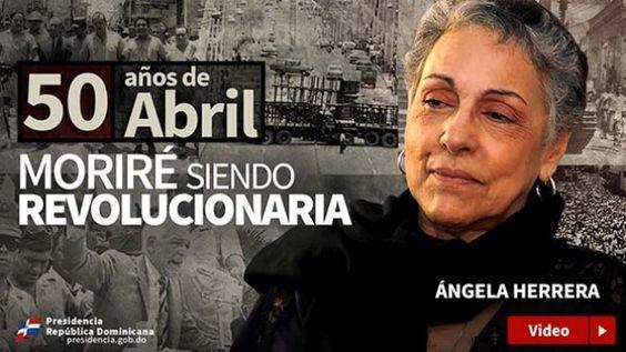 VIDEO. Ángela Herrera: Moriré siendo revolucionaria