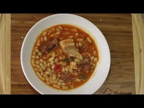 Judias Blancas Con Chorizo Olla Gm G O Express Youtube Judias Blancas Judias Blancas Recetas Recetas De Comida