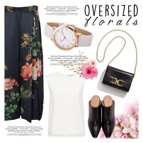 """""""Oversized Florals"""" by christianpaul ❤ liked on Polyvore featuring Finders Keepers, Vetements, contestentry, oversizedflorals and christianpaul"""