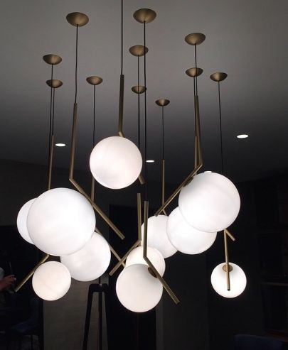 Cluster of michael anastassiades ic lights for flos lighting pinterest lights and - Ic lights flos ...